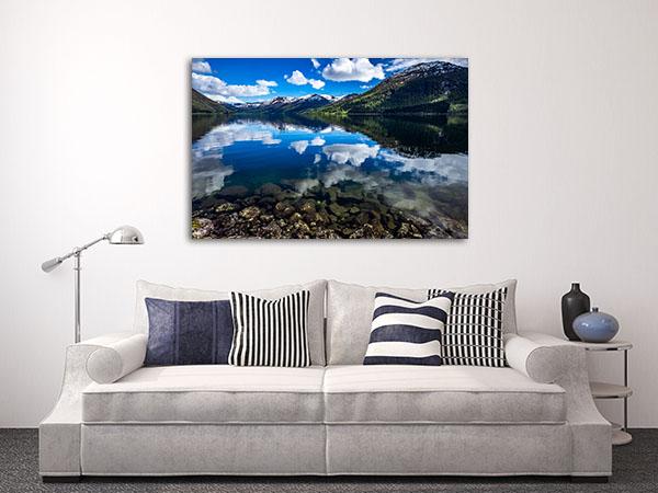 Norway Natural Landscape Prints Canvas