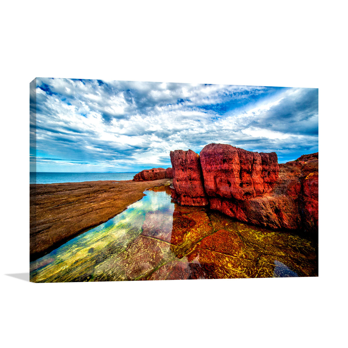 NSW Art Print Tura Red Rocks