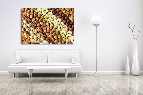 Nuts Print Artwork