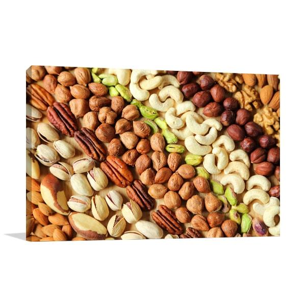 Nuts Canvas Prints