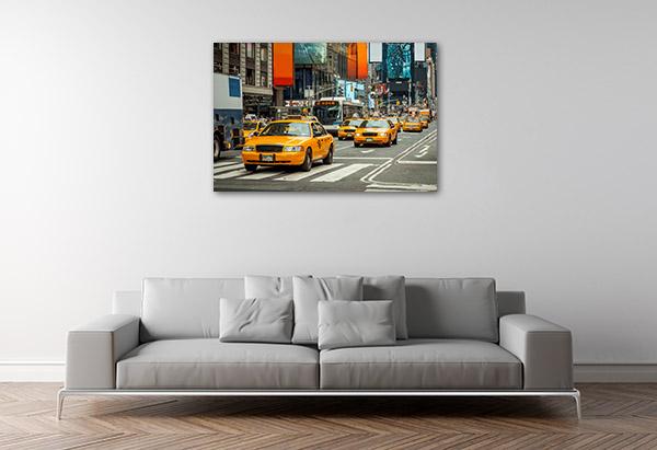NYC Cabs Canvas Prints