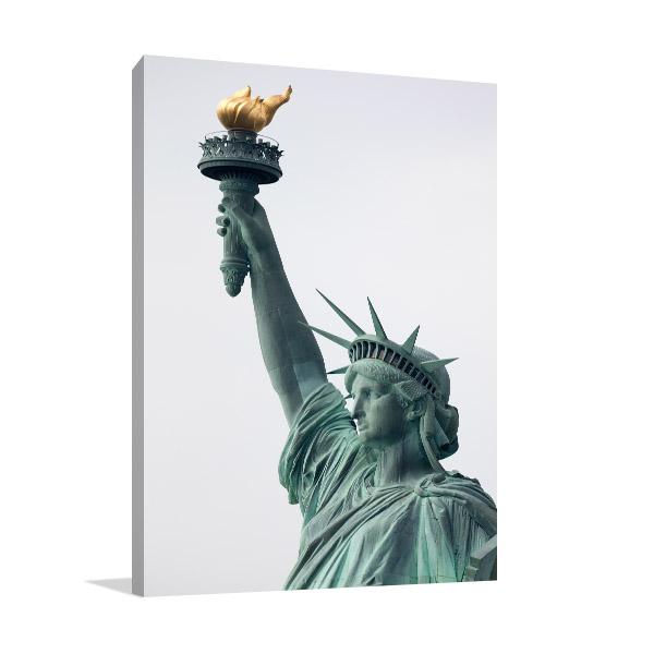 NYC Liberty Canvas Art Prints