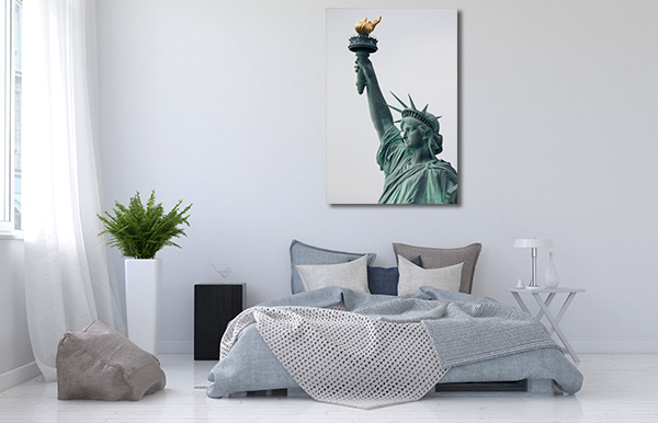 NYC Liberty Canvas Prints