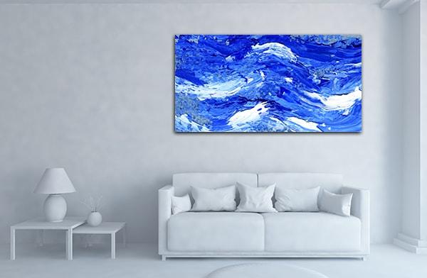Ocean Wave Artwork