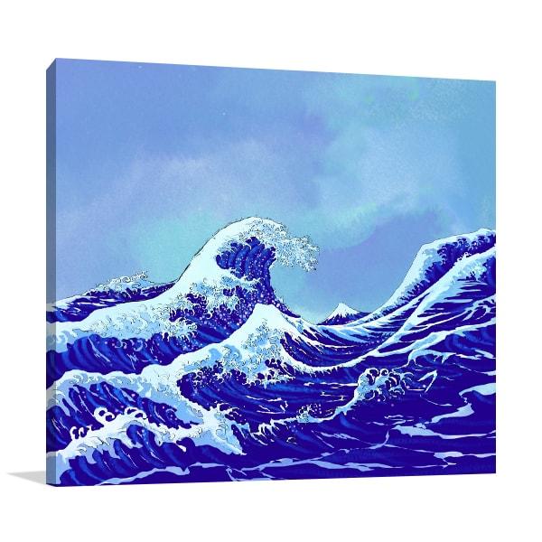 Ocean Waves Artwork