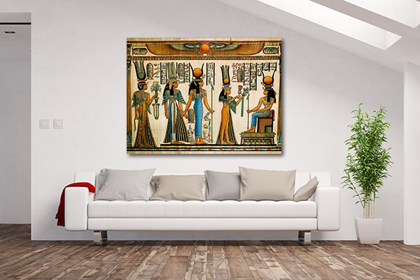 Offer To Queen Prints Canvas