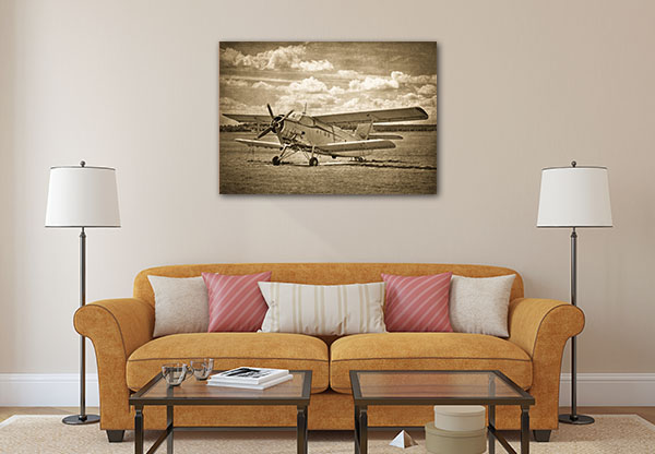 Old Aircraft Canvas Prints