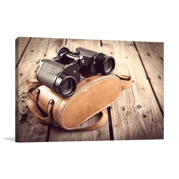 Old Binoculars Wall Art