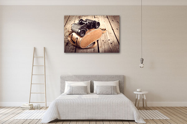 Old Binoculars Canvas Prints