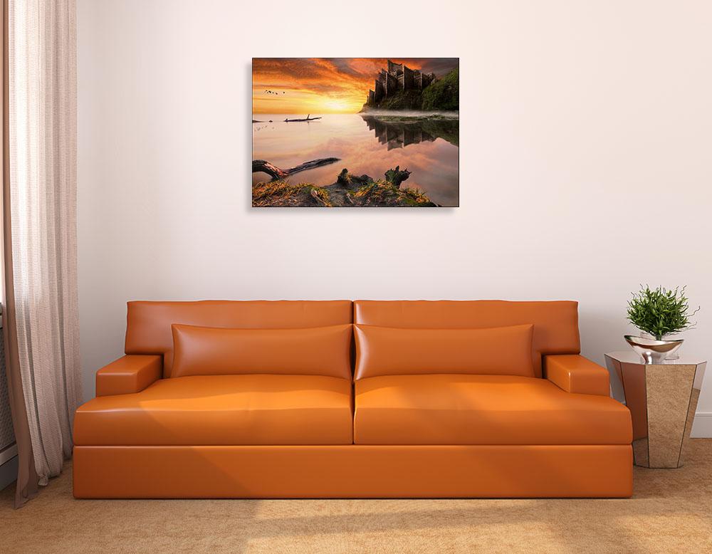 Landscape Photography Print on Canvas