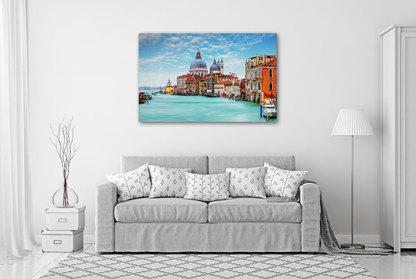 Old Cathedral Sunny Day Prints Canvas