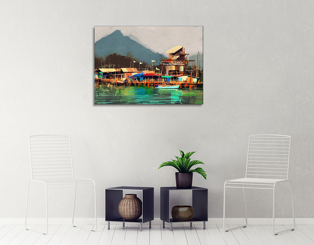Impressionism Art Print on Canvas