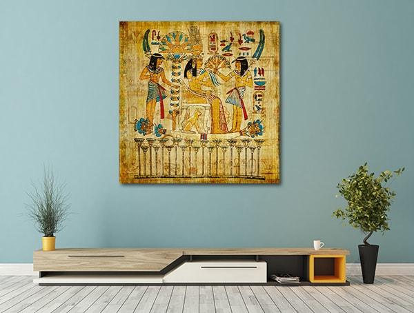 Old Papyrus Prints Canvas