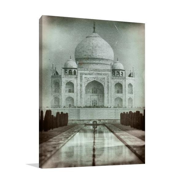 Old Taj Mahal Artwork