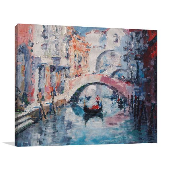 Old Venice Print Artwork
