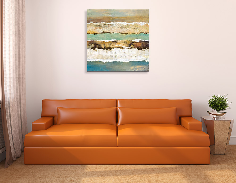 Canvas Art Contemporary Print