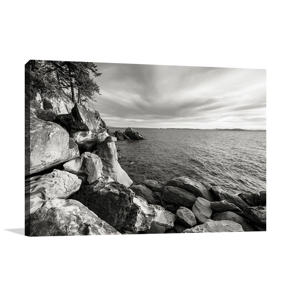 On the Rocks Print on Canvas | Bisig