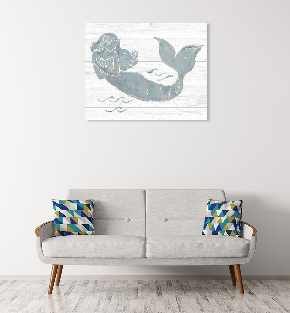 On the Waves II Wall Art Print
