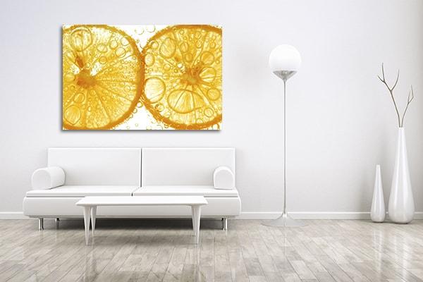Orange Slice Print Artwork