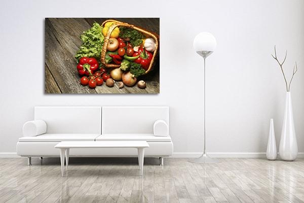 Organic Food Artwork
