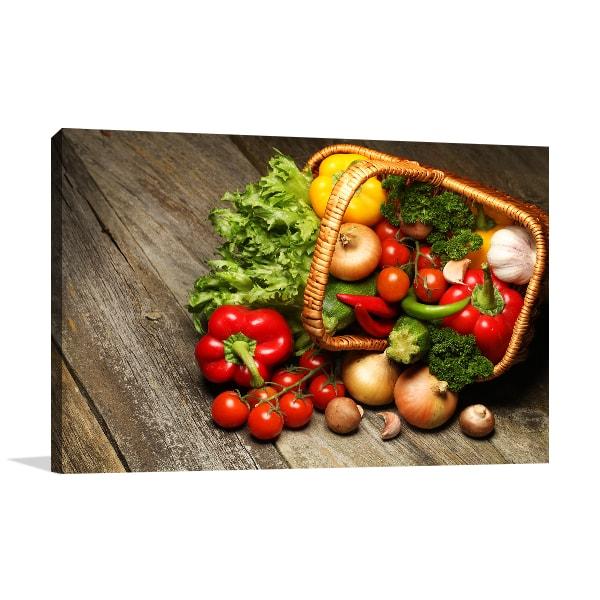Organic Food Wall Art