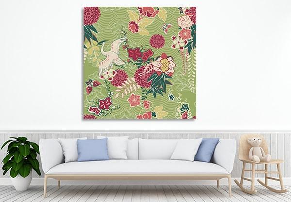Oriental Pattern Artwork