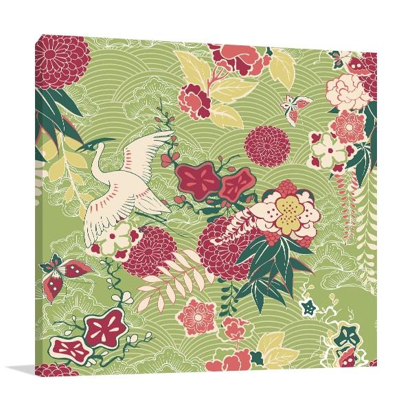 Oriental Pattern Canvas Prints