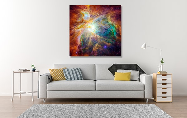 Orion Nebula Wall Art Print