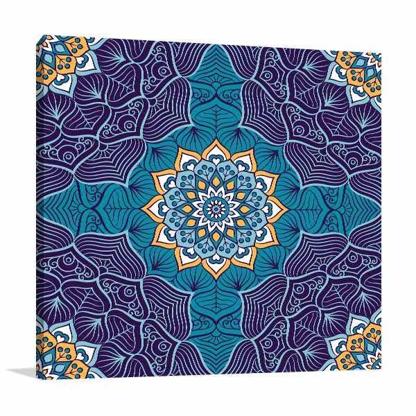 Ottoman Motifs Canvas Art Prints