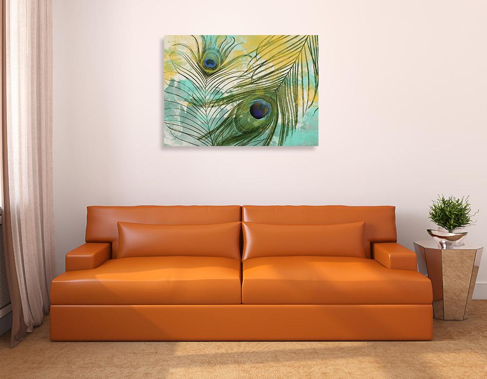 Animal Abstract Green Art Print