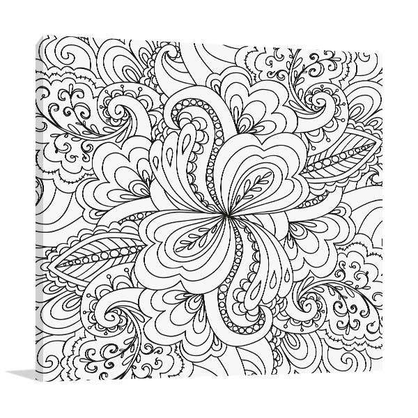 Paisley Pattern Wall Art