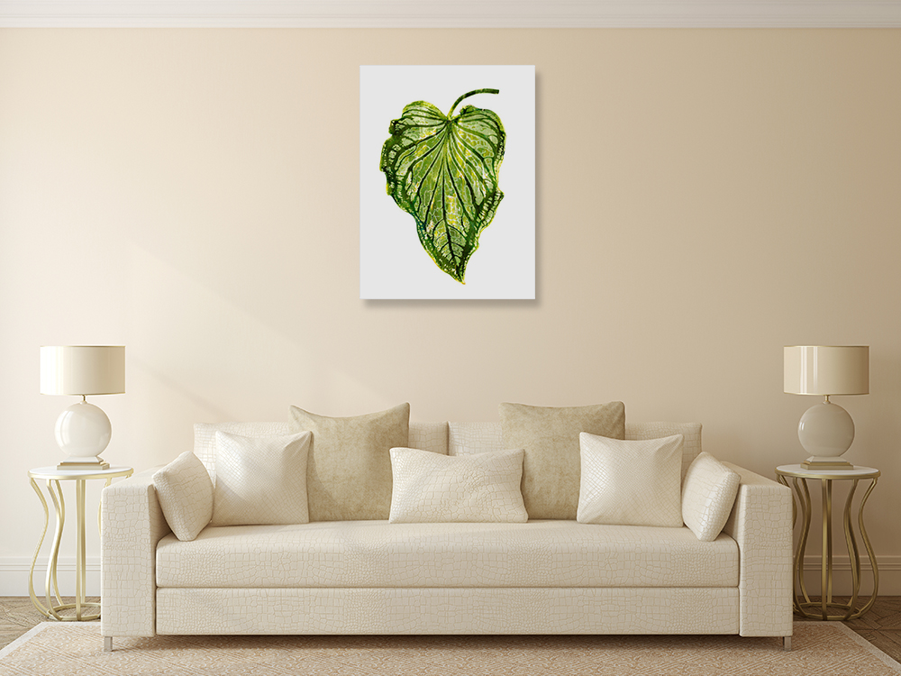 Tropical Palm Wall Print on Canvas