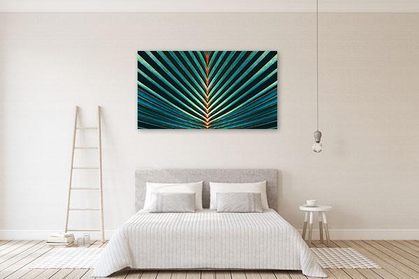Palm Leaf Wall Art Print Wall Art