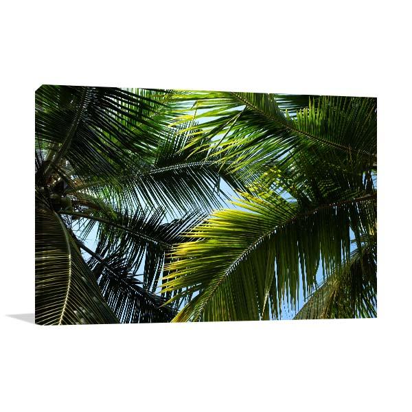 Palm Leafs Artwork