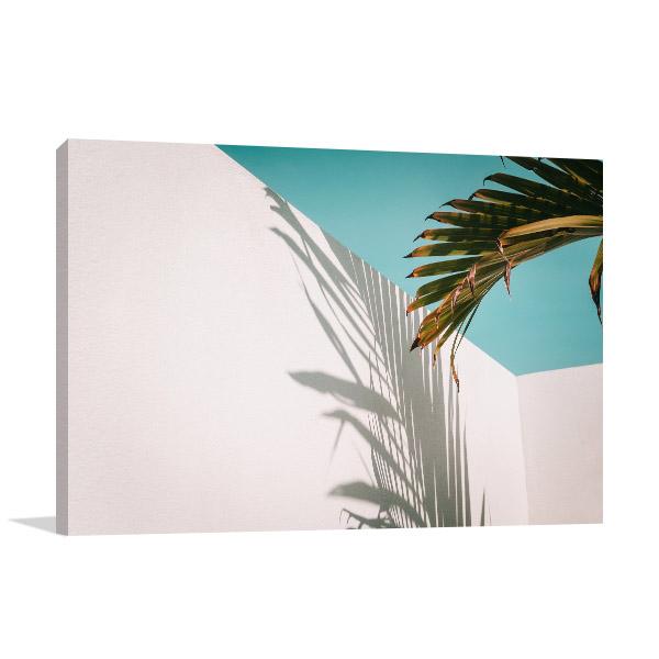 Palm Leaves Shadow Wall Art
