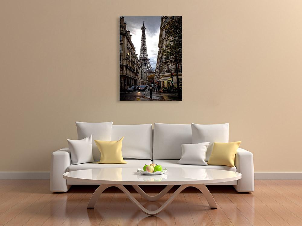France Landmark Canvas Print