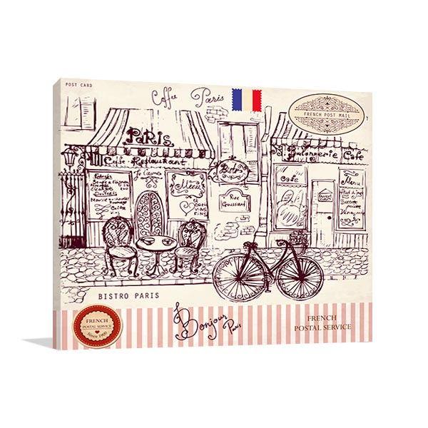 Paris Symbols Art Prints