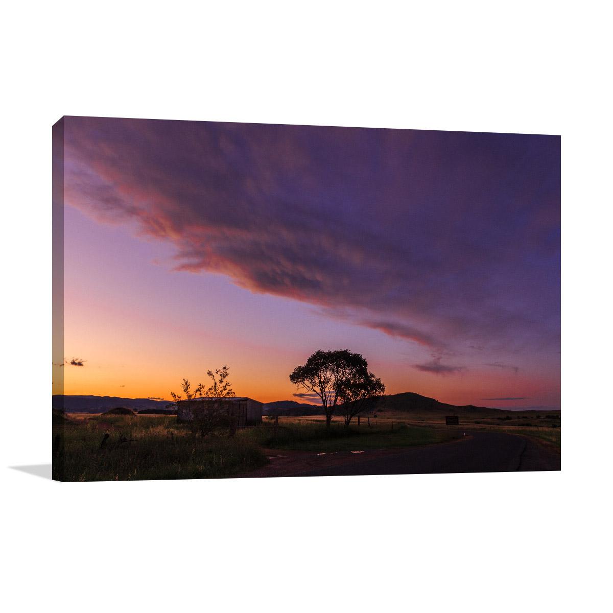 Parkwood Art Print Silhouette Lone Tree
