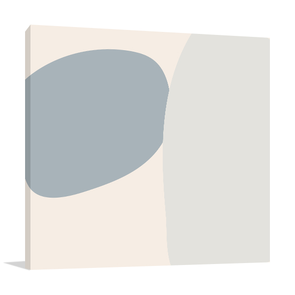 Pastel Block Wall 1 Canvas Art