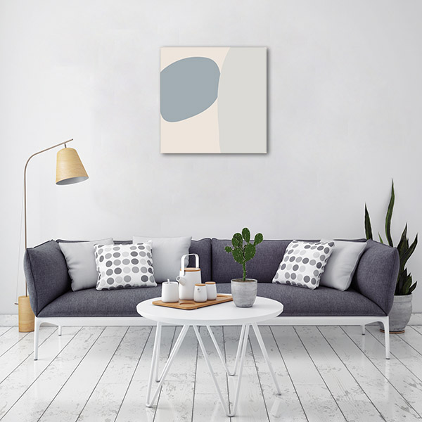 Pastel Block Wall 1 Canvas Prints