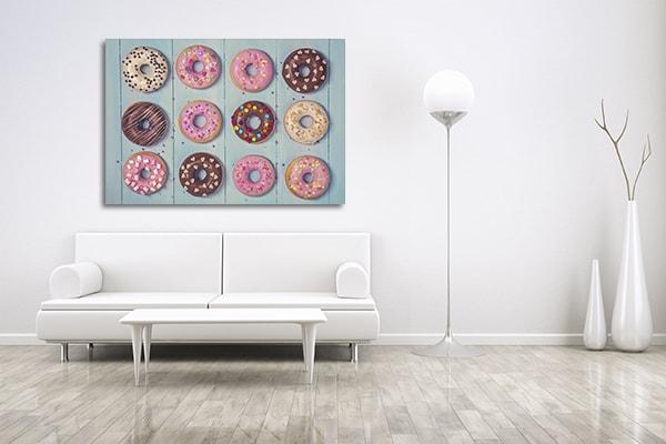 Pastel Donuts Wall Art