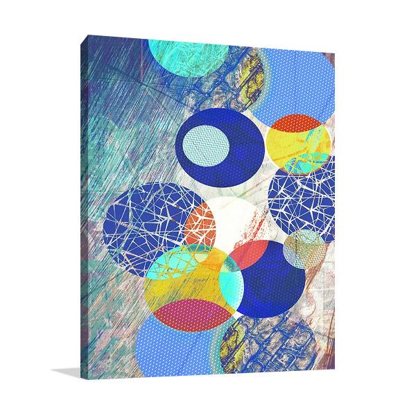 Patterned Circles I Print   The Studio