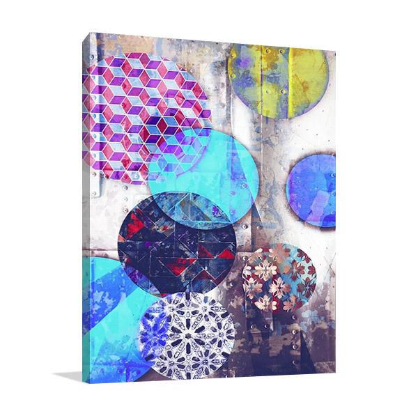 Patterned Circles II Print | The Studio