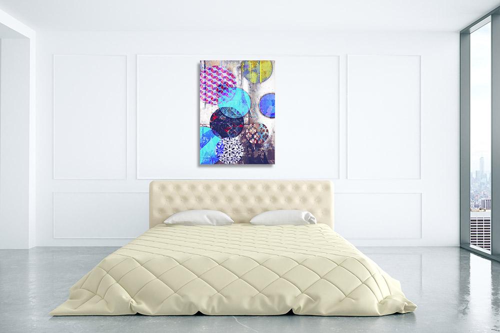 Shapes Art Canvas Print Contemporary
