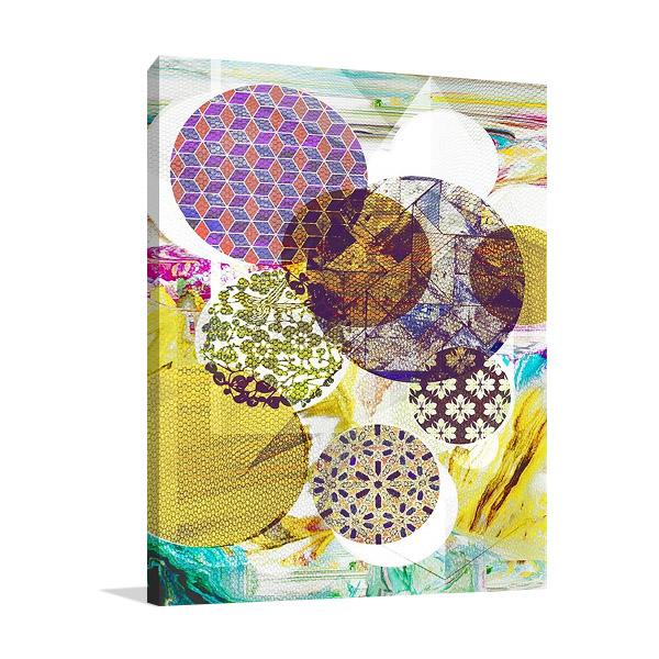 Patterned Circles IV Art Print | The Studio