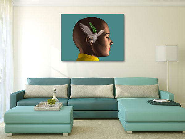 Peace in Mind Canvas Art Prints
