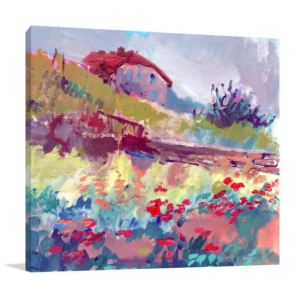 Peaceful Spring Print Artwork