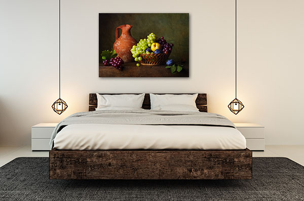 Pears and Grapes Artwork