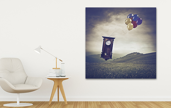 Pendulum Art Print on the wall