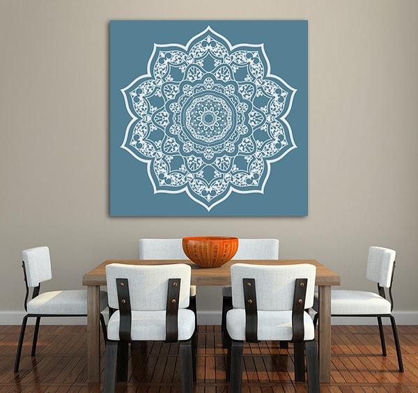 Persian Mandala Canvas Prints